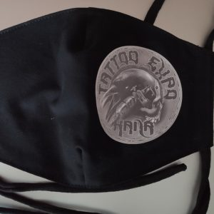 Tattoo rouška - černá 1
