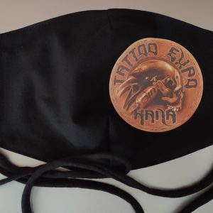 Tattoo rouška - černá 2-1