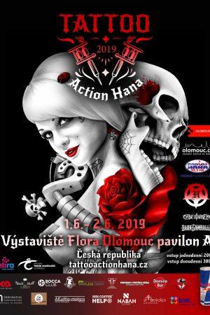 Tattoo Action Haná 2019 plakát